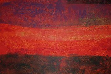Bild malen mit Acryl Folientechnik