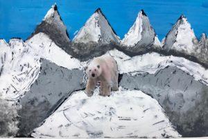 Berge malen Acryl